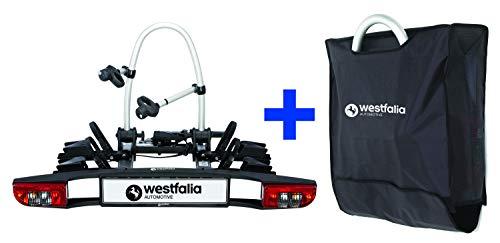 Westfalia BC 60 (Modell 2018) Fahrradträger für die Anhängerkupplung inkl. Tasche