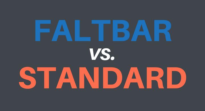 Faltbare vs. normale Dachbox