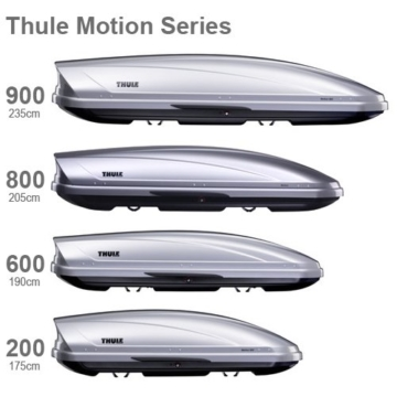 Thule Motion XL (800) – Silber glänzend -