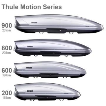 Thule Motion XXL (900) – Schwarz glänzend -