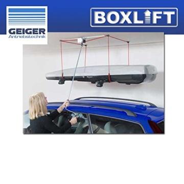 Geiger Antriebstechnik Dachboxenlift -