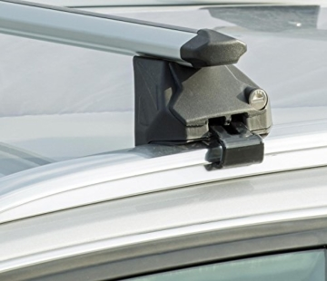VDP Alu Relingträger CRV107A kompatibel mit Hyundai ix35 5 Türer 2010-2015 abschliessbar -