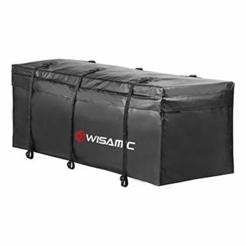 WISAMIC Heckbox Für Anhängerkupplung Auto Hintere Gepäcktasche - Wasserdicht Transporttasche 60 x 24 x 24 Zoll (566 Liter) 500 x 500 D PVC Tarpulin - 4