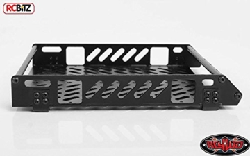RC4WD Toy Tough Armor LZR-1 Metal Roof Rack Z-X0039 Baja Squadron S8 Light Bar Mount - 2