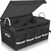 Oasser Kofferraumtasche Kofferraum-Organizer mit Deckel Auto Kofferraum Organizer Autotasche Auto Kofferraum Box Praktisch und Wasserdicht Verpackung MEHRWEG - 1